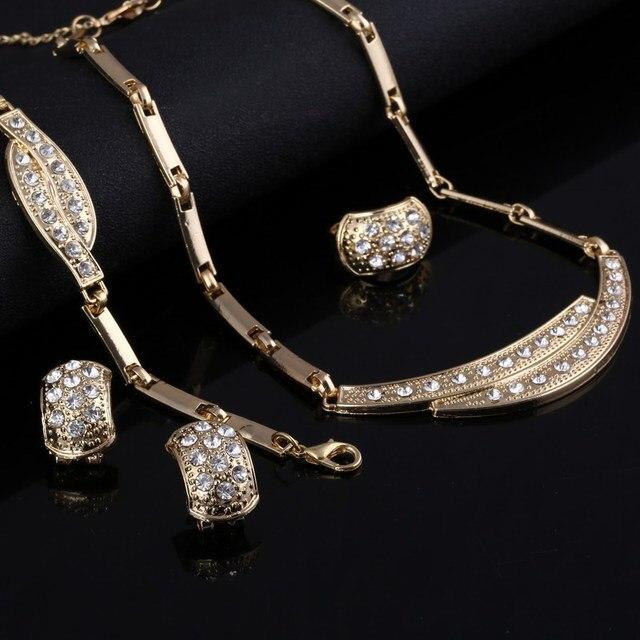 Zoshi conjuntos de jóias feminino indiano africano conjunto de jóias preço incrível casamento para noivas dubai conjuntos de jóias de ouro 4