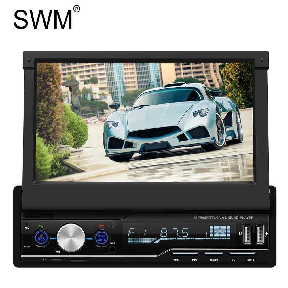 "Car Radio 2 Din Autoradio 2din Car Audio Stereo 7"" HD MP5 Player Zoom In Steering Wheel Control Handsfree Car Radio Coche"