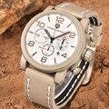 Pagani design da marca de luxo dos homens relógios de quartzo de couro genuíno casuais à prova d' água relógios de pulso homem relógio relojes desporto ao ar livre dos homens