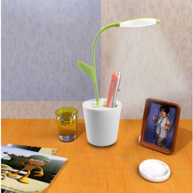 Quarto lâmpada de Cabeceira Lâmpada de Leitura de Aprendizagem Caneta Titular Carga Levou Pequena Lâmpada Criança Lâmpada Proteção para Os Olhos