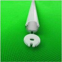 М 10 светодио дный шт. 20 * мм 20 мм 2 м круглый светодиодный канал кабель скрытый с подвесным канатом светодио дный, светодиодный алюминиевый пр