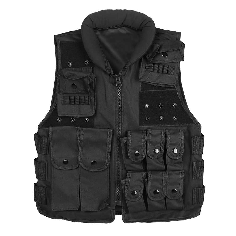Tactical Vest Men Hunting Vest Outdoor Hunting Waistcaot Military Training CS Waistcoat swat Protective Modular Security Vest