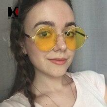 Shauna модные женские туфли круглые солнцезащитные очки милые дамы розовый тонированные линзы Glasse