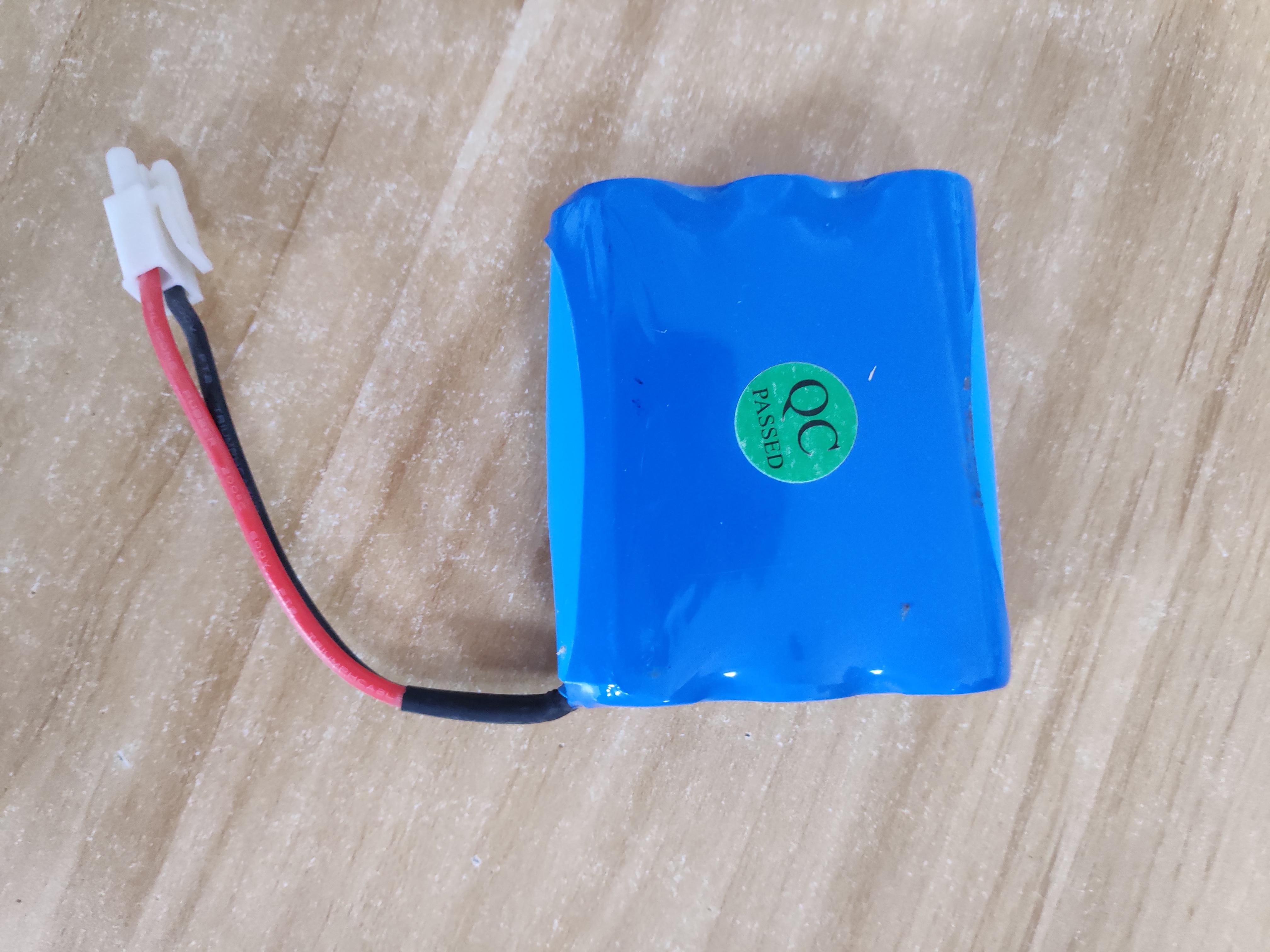 Alpha 1080X Solar Street Light Spare Battery Pack of 2pcs