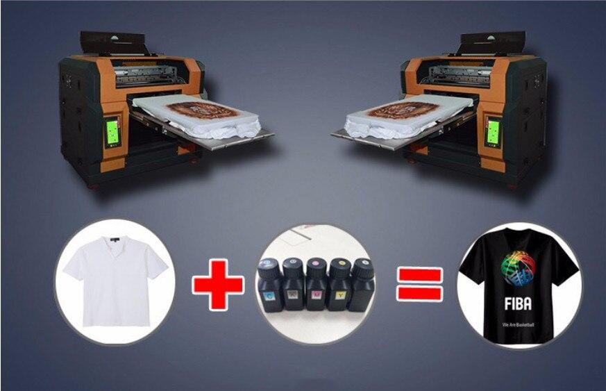 T-shirt Pattern Color Printing Machine Digital Direct Clothing Printer Universal Printer Equipment
