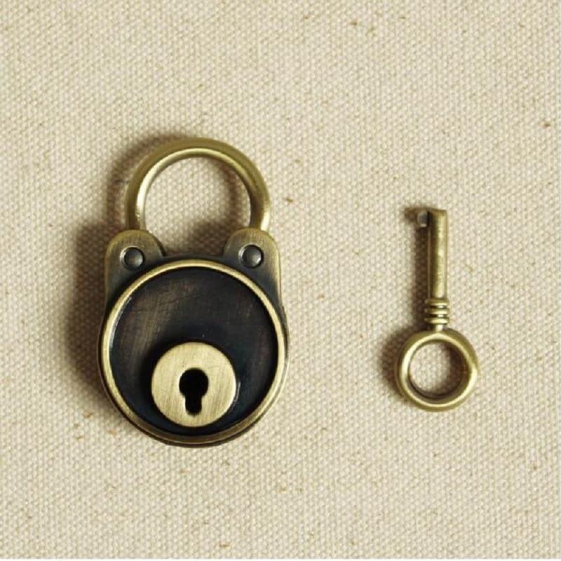 מנעול מחברת יומן מנעול מפתח חגורת - ריהוט