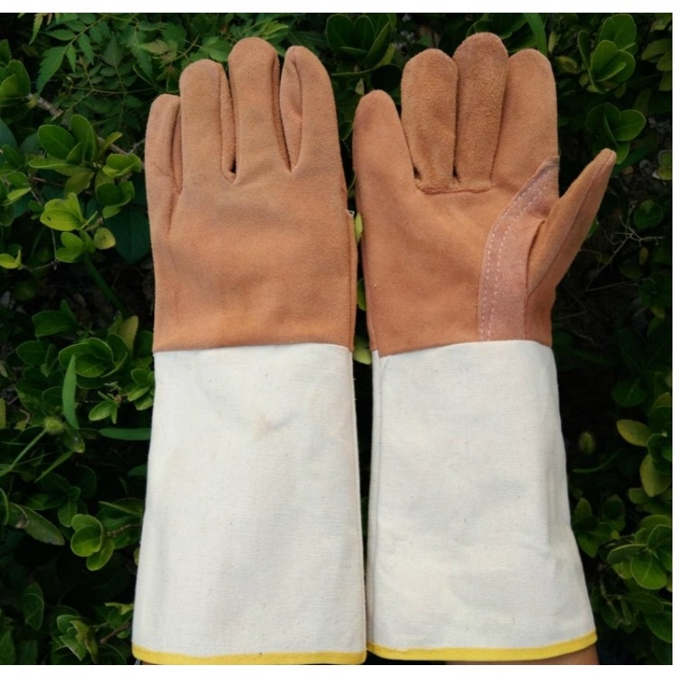 Long Style Welding wear-resisting Heat insulation workplace safety glovesLong Style Welding wear-resisting Heat insulation workplace safety gloves