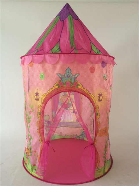 Portable Pink Children Kids Play Tents Outdoor Folding Toy Tent Pop Up Kids Girl Princess Castle & Portable Pink Children Kids Play Tents Outdoor Folding Toy Tent ...