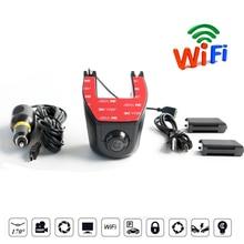 Видеорегистраторы для автомобилей Камера Full HD 1080 P WI-FI Dashcam Drive Регистраторы Ночное видение 170 градусов авто трафика цифровой регистратор видео Регистраторы