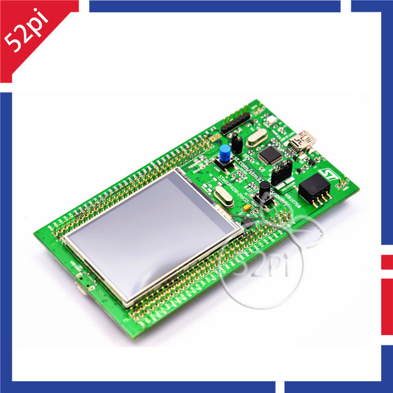 Free shipping STM32F429I-DISCO Embeded ST-LINK/V2 STM32 Touch Screen Evaluation Development Board STM32F4 DiscoveryKit STM32F429 32f429idiscovery stm32f429i disc1 stm32f4 discovery kit stm32 board embedded on board debug tool st link v2 b