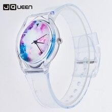 Transparent Horloge Silicone Belle Couleur De Gelée Nouveauté Montres Femmes Quartz Montres Dames Montre Reloj Mujer