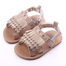 New High Quality Baby Girls Moccasins Baby First Walker Fringe Summer Shoes for Girls