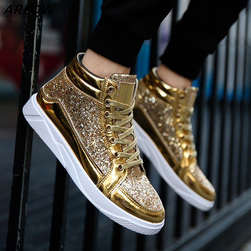2019 Spring High Top Sneakers Hot Sale Mens Shoes Casual For Adults Tenis Masculino Breathable Fashion Casual Men Shoes
