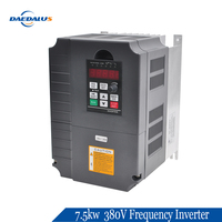 Deadalus High Quanlity 7.5kw 380V Frequency Inverter for CNC Spindle Motor Speed Control VFD .