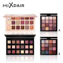 MIXDAIR блестящие тени для век Palete Make up Тени для век Палитра долговечные легко носить матовые тени для век мерцающие Сомбра