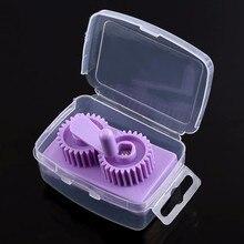 Фиолетовый пластиковый рюш бумаги щипцы машины для обжима поделок из бумаги, гофрированный DIY Art инструмент бумажного DIY скрапбукинга штамповка
