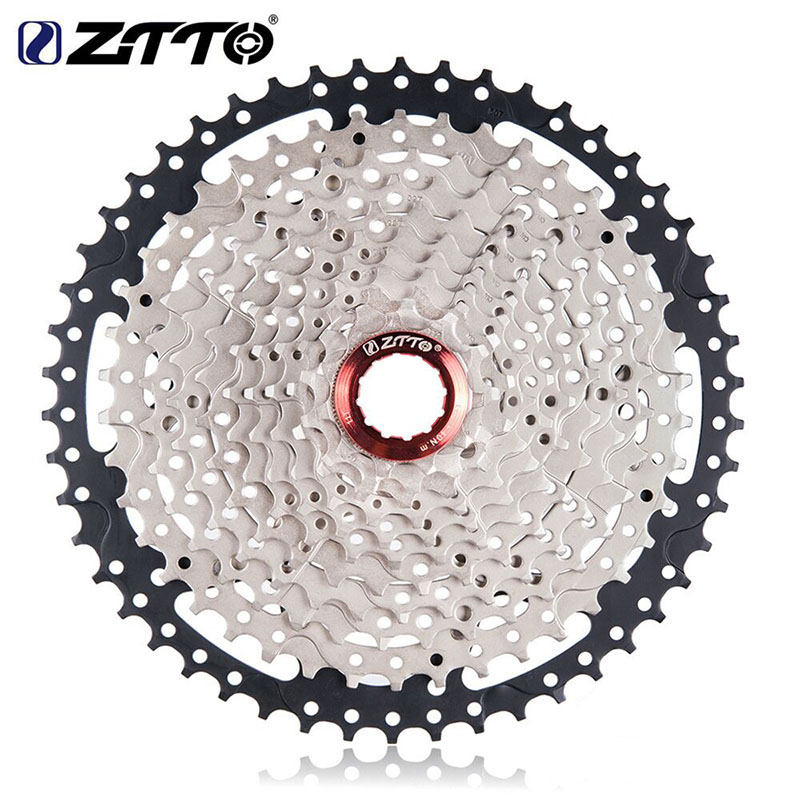 ZTTO MountainBike Cassettes 11 Speed 11-50T Wide Ratio MTB Bicycle Freewheel Sprockets For Shimano Sunrace M7000 M8000 M9000 ztto black bicycle freewheel 11 speed 11 46t wide ratio mtb bike cassettes sprockets for shimano xt slx m7000 m8000 m9000