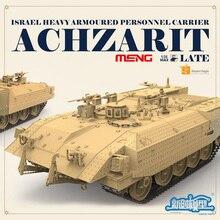 SS-008 1/35 Israel Achzarit Heavy Armored Transporter Later Model Building Kit Toy