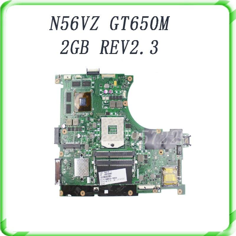 n56vm Rev 2 3 font b laptop b font motherboard Fit N56VM N56VJ N56VZ N56VB non