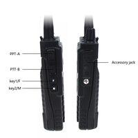 מכשיר הקשר dual band ניו Baofeng BF-A55 פלוס מכשיר הקשר Dual Band VHF / UHF 136-174 / 400-520MHz 8W לשדר כוח 128CH ציד CB Ham Radio סורק (4)