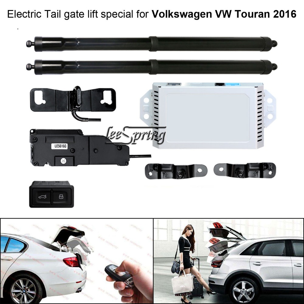 Car Electric Tail Gate Lift Special For Volkswagen VW Touran 2016 Easily For You To Control Trunk With Latch