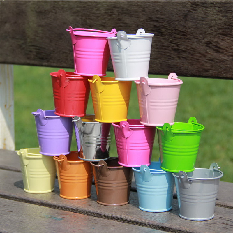 Online buy wholesale metal bucket from china metal bucket for Small pail buckets
