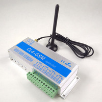 CL4 GSM Four Relay GSM Controller SMS Call Remote Control Switch ON OFF Garage Door Gate