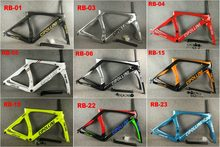 2020 Carbon Road Frame Cipollini RB1K DE EEN Shiny RB1000 T1100 carbon racefiets fiets frame set(China)