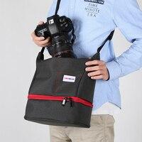 DSLR Waterproof Camera Bag Travel Bag Shoulder Camera Bag For Nikon D3200 D90 D5500 D5600 D7100