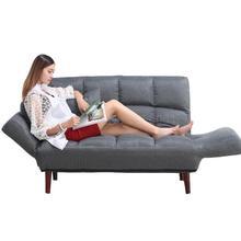 Ленивый диван креативный диван-кровать маленький Huxing двойной тканевый диван гостиная спальня татами магазин одежды диван