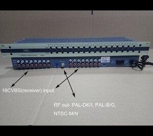 Image 2 - 16 Way CATV modulator, interval channel, RF signal output, NTSC modulator,PAL B/G modulator,  PAL DK/I modulator for hotel