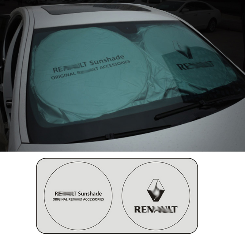 Image 3 - Car Windshield Cover Universal Car Windshield Rain Ice Snow Cover Sun Shade Sunshade Protection Auto Car SUV Cover for Renault-in Windshield Sunshades from Automobiles & Motorcycles