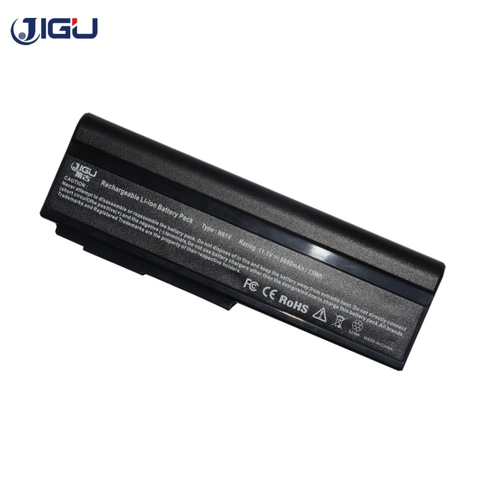 JIGU Аккумулятор для ноутбука ASUS N61 N61J N61Jq N61V N61Vg N61Ja N61JV N53 M50 M50s N53S A32 M50 A32 N61 A32 X64