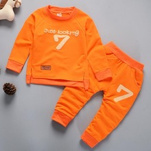 BibiCola Summer Baby Boy Clothing Sets Clothes Printed Tops