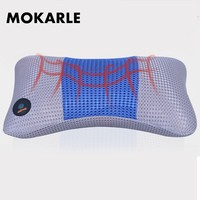 Electric Neck Massager Cervical Shiatsu Massage Pillow Electric Multifunctional Massage Pillow Cushion Pain Relief Car Home