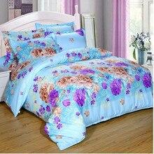 Home textiles Children Cartoon 3-4pcs Cute  3D flower bedding set include duvet cover bed sheet pillowcase Child Bedding Set
