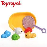 Toyroyalフローティング動物で釣りネット水夏風呂浴槽玩具赤ちゃんプール遊びゲームアクセサリー用子供キッズ12ヶ月