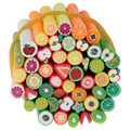 Nice 50 PCS Mixed Styles 5*50 MM Fimo Polymer Clay Cane Nail Art Decal Hot New