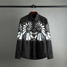 Classic 2017 men long sleeve men's shirts and high-end business no-iron shirt S15