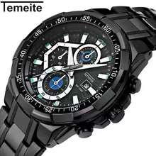 Men Quartz Full Steel Watches Luxury Casual Reloj Business Waterproof and shockproof Wristwatch Stainless Steel Watch цена