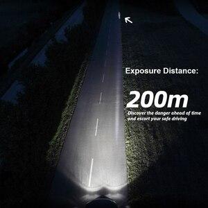 Image 5 - Roadsun carro lâmpadas led h4 h7 h1 9005 9006 h11 35w 8000lm auto carro farol lâmpadas 6000k 12v 24v farol cob luz de nevoeiro lâmpada