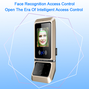 Image 5 - Face Access Control System Face Recognition Door Lock Biometric System USB Time Clock Recorder For Office Employee Equipment