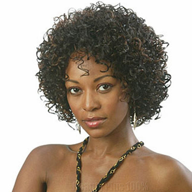 Short Wigs Synthetic Sexy Female Yaki Haircut Wigs Natural Looking Women Wigs pelucas pelo Tangle Free Short Synthetic Wigs