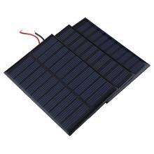 Carregador de Energia Nova 5 V 0.8 W Célula 160ma Painel Solar Módulo DA Bateria DIY Barco Casa Portable Power Source