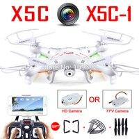 100% Original Syma X5C 1 (Upgrade Version Syma X5C) Drone Can Add WIFI FPV HD 2MP Camera RC Quadcopter Helicopter Toy VS H31 H22