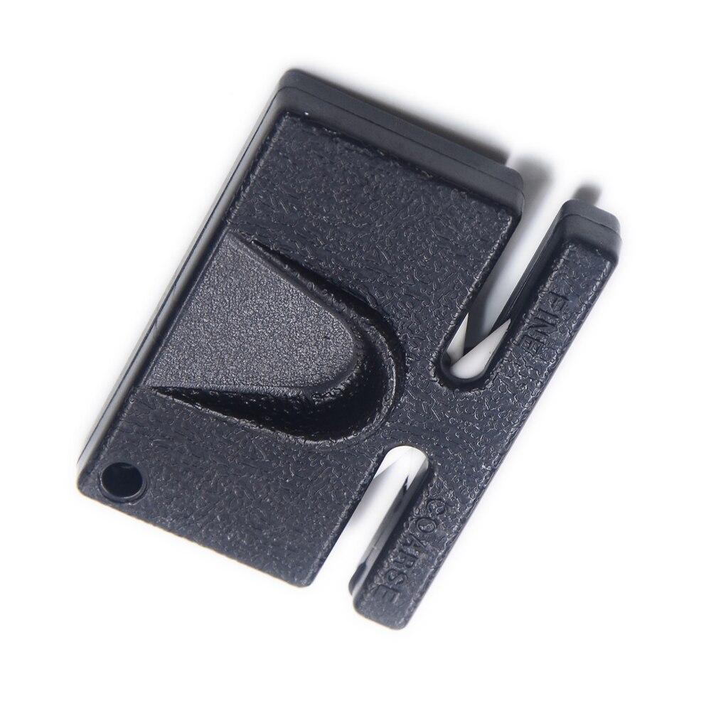 xyj marca migliore mini nero per affilare i coltelli da cucina strumenti per metal lama di