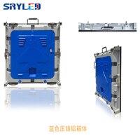 Intdoor светодиодный дисплей экран p5 открытый литой алюминиевый корпус 640*640 мм 1/8 s высокая яркость водонепроницаемый рекламный щит