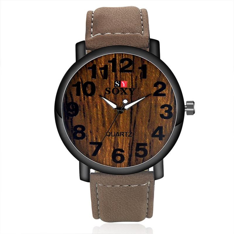 7958e03e80e nový design hodinky pánské módní křemenné hodinky muž jedinečný ...