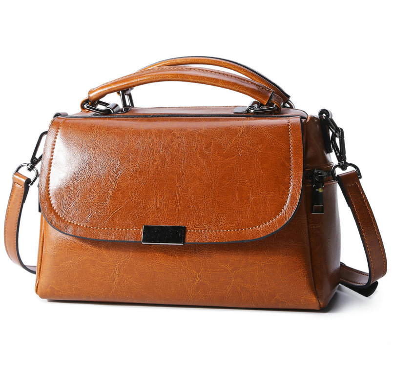 In 2017, Real Cow Leather Ladies Women Genuine Leather Handbag Shoulder Bag High Quality Designer Luxury Brand Crossbody Bag real cow leather tote bag women genuine leather handbag shoulder bag high quality designer brand boston crossbody bag