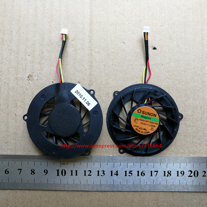 New laptop cpu cooling fan for ACER 4930 4930G 4730 5530 5530G 4730Z MG55100V1-Q000-G99